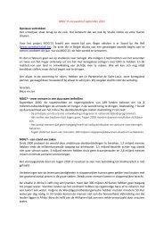 MDG'15-nieuwsbrief september 2011 Opnieuw ... - Studio Globo
