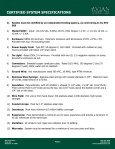 Avian Flyaway Inc. System Specifications - NFMT - Page 3