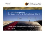 IKT für Elektromobilität - CO2-NeutrAlp