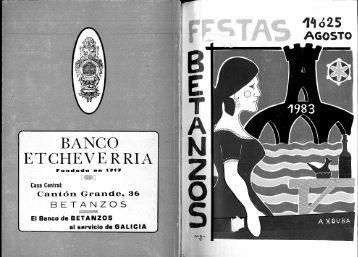 BANCO ETCHEV E RRIA - Hemeroteca Virtual de Betanzos
