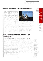 femte knud Lind Larsen-symposium ATv's temagruppe for byggeri ...