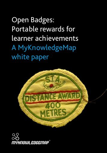 Open Badges: Portable rewards for learner achievements A ...