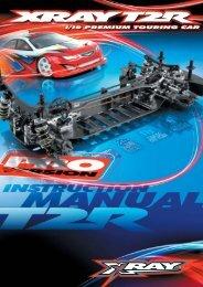 XRAY T2R PRO Instruction Manual