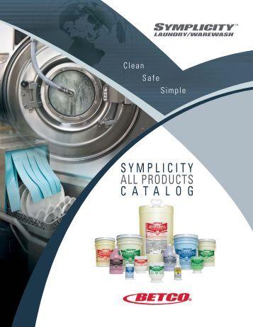 Symplicity Full Product Catalog - Betco Corporation