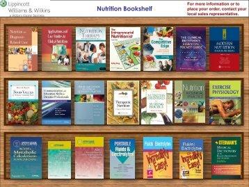 Nutrition Bookshelf