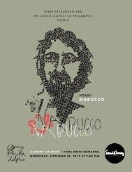 Verdi's Nabucco - Opera Philadelphia