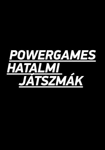 PowerGames Hatalmi játszmák - Ludwig Múzeum
