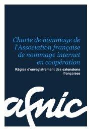 La charte de nommage - Afnic