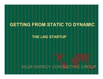 GETTING FROM STATIC TO DYNAMIC