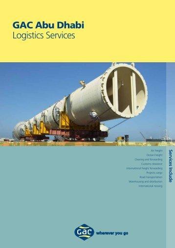Logistics Abu Dhabi - GAC