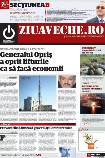 Generalul Opriş a oprit lifturile ca să facă economii - Ziua Veche