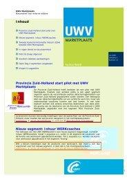 Nieuwsbrief juli 2009 (PDF, 145 Kb) - Uwv