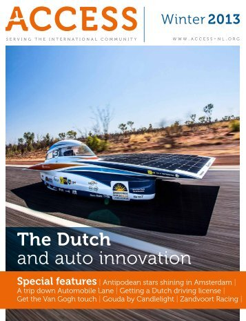 The Dutch and auto innovation - Access
