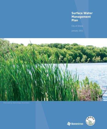 Surface Water Management Plan