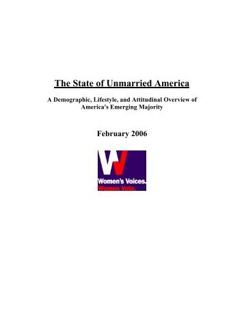 New 83-Page Report from Women's Voices Women Vote