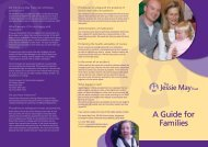 A Guide for Families - Jessie May Trust