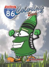 I-86 Coloring Book 2010 - Post-Journal