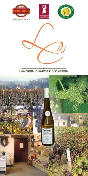 Catalogue Animations Terroirs 2011 - Vins de Loire