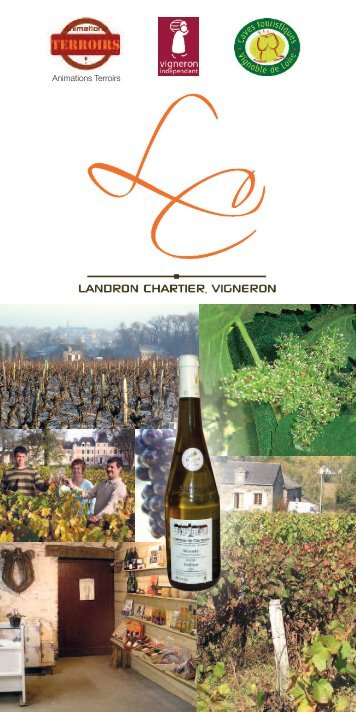 Catalogue Animations Terroirs 2011 - Vins de Loire