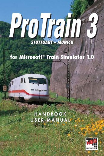 for Microsoft® Train Simulator 1.0 ProTrain 3 - Contact Sales