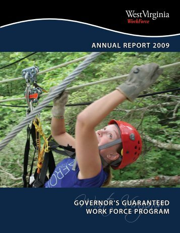 ANNUAL REPORT 2009 - West Virginia Department of Commerce