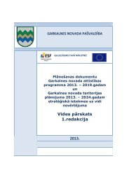 Vides pārskats 1.redakcija 2013. - Garkalnes novads