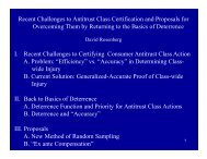 Rosenberg Slides - American Antitrust Institute