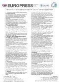 Sede legale: I - 16123 Genova - via XXV Aprile, 8 ... - Euro Press Pack - Page 3