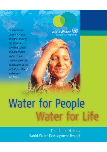 Water for people.pdf - WHO Thailand Digital Repository