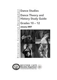 Dance Studies Dance Theory and History Study Guide - Curriculum ...