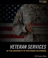 Veteran Resource Book - USC Student Affairs Information ...