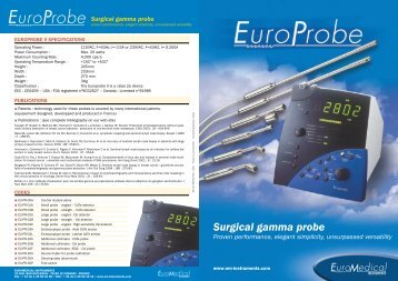 Surgical gamma probe