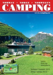 Camping Guiden 2012 - Norsk Campingguide