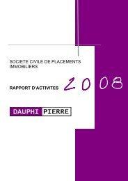 rapport DP 2008 OK