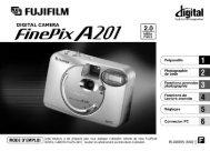 Mode d'emploi FinePix A201 .pdf - Fujifilm France
