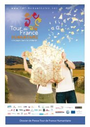 Dossier de Presse Tour de France Humanitaire - Haut et Fort