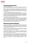Synthèse du rapport de l'IRSN sur le thème des accidents graves ... - Page 3