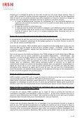 Synthèse du rapport de l'IRSN sur le thème des accidents graves ... - Page 6
