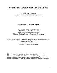 UNIVERSITE PARIS VIII – SAINT DENIS - E-Corpus