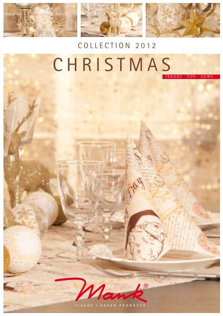 CHRISTMAS - MANK Tissue und Paper Products