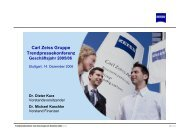 Präsentation (PDF) - Carl Zeiss