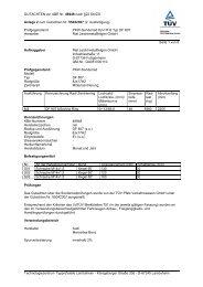 GUTACHTEN zur ABE Nr. 46948 nach §22 StVZO Anlage 2 zum ...