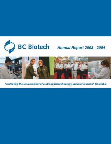 About BC Biotech - Life Sciences