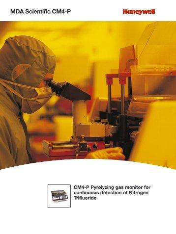 MDA Scientific CM4-P - Honeywell Analytics