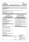 EC-Declaration of conformity EMC Directives 2004/108/EC ATEX ... - Page 5