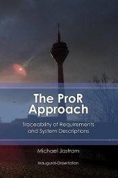 The ProR Approach: Traceability of Requirements and System ...