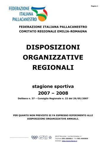DOAR CRER 2007-08.pdf - Comitato Italiano Arbitri - Provincia di ...
