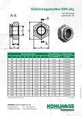 Normteile-Katalog downloaden - KOHLHAGE Fasteners - Page 7