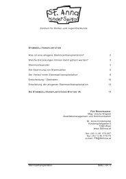 Informationen zur allogenen Stammzelltransplantation