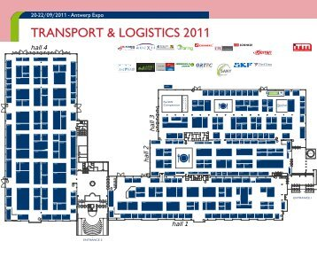 Plattegrond en deelnemerslijst Transport & Logistics 2011